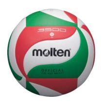 Molten balle de volley en imitation cuir cousue à la main blanc - Ballons