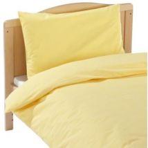julius zollner 85001 40800 - parure de lit - taille: 100 x 135 cm / 40 x 60 cm, couleur: jaune - Couvertures - Edredons - Couettes