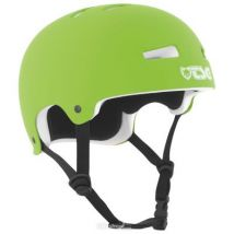 Casque Street TSG EVO Solid Color Lime Green - Protections du sport