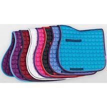 Cottage craft tapis de selle matelassé est passée de plus de rose - Selle et tapis de selle