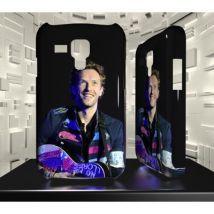 Coque personnalisée pour Samsung Galaxy S3 Mini - SGM03 002 026 006 COLDPLAY - Etui pour téléphone mobile