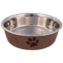 Ecuelle En Acier Inox Avec Revêtement Plastique - Mon Animalerie - Gamelles et distributeurs pour chien