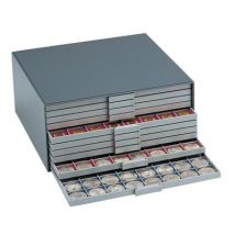 Box de rangement pour pièces de différents formats - Monnaie / Pièce