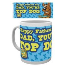 Tasse de ceramique Scooby Doo Fathers Day Top Dog