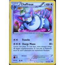 carte Pokémon 94/122 Chaffreux 100 PV XY - Rupture Turbo NEUF FR - Jeu de cartes