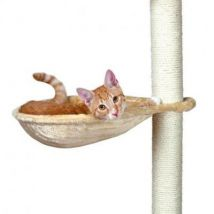 Trixie hamac - nid xl pour griffoir pour chat beige peluche - Pots et réducteurs