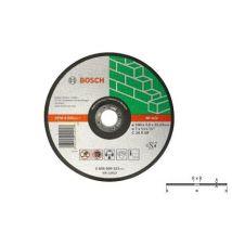 1 Disque A Tronconner Pour Matériaux A Moyeu Plat O230Mm - Bosch - 2608600326 - Roues et disques abrasifs