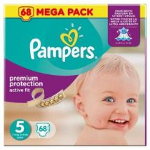 PAMPERS Active Fit Taille 5 (Junior) 11 a 25 kg co - Accessoires de change