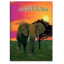 Herma stickeralbum elefanten, din a5 - Peinture