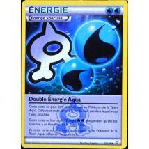 carte Pokémon 33/34 Double Energie Aqua Double Danger NEUF FR - Jeu de cartes