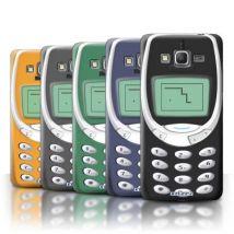 Coque de Stuff4 / Coque/Etui/Housse pour Samsung Galaxy Grand Prime / Nokia 3310 Multipack / Portables rétro Collection - Etui pour téléphone mobile