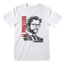 LA CASA DE PAPEL - T-Shirt - El Profesor - (M) - T-Shirt