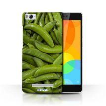 Coque de Stuff4 / Coque/Etui/Housse pour Xiaomi Mi 4i / Haricots Verts Design / Nourriture Collection - Etui pour téléphone mobile