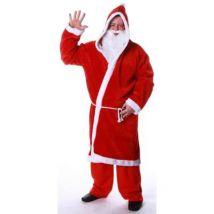Déguisement Père Noël adulte taille unique - Déguisement adulte