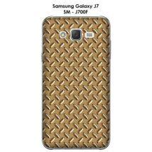 Coque Samsung Galaxy J7 - SM-J700F Métal Or - Etui pour téléphone mobile