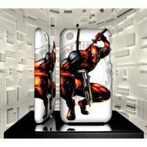 Coque iPhone 3G 3GS Deadpool 04 - Etui pour téléphone mobile