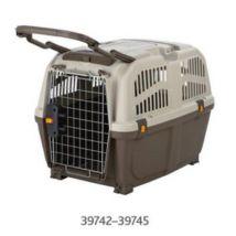 Box De Transport Skudo, 6: 63 × 70 × 92 Cm, Taupe/Bis - 39743 - Mon Animalerie - Transport et voyage du chien