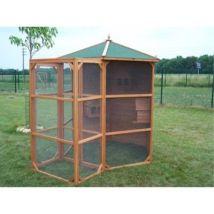 Volière taille XL 4.5 m2, Foresta - Cages et Accessoires oiseaux