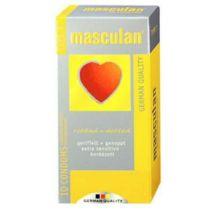 Masculan Préservatifs Masculan Nervurés A Reservoir - Hygiène et cosmétiques intimes