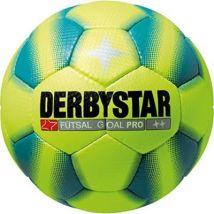 Derbystar ballon de football pour foot en salle goal pro-jaune bleu - 4 1082400560 - Ballons