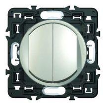 Poussoir + interrupteur ou va-et-vient céliane 6a legrand leg99784 - Equipements électriques domotique