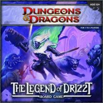 Wizards Of The Coast - Dungeons & Dragons : The Legend of Drizzt Boardgame - Jeu de stratégie