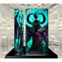 Coque Iphone 4 4S JVF World of Warcraft WOW 10 Illidan Hurlorage - Etui pour téléphone mobile