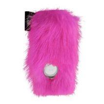 I-doll - moumoute leatherskin pour ipod shuffle, fuchsia - MP3 audio / vidéo