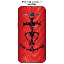 Coque Samsung Galaxy J5 - SM-J500F Manade attitude Rouge - Etui pour téléphone mobile