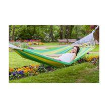JOBEK - Hamac bonita rayures vert et anis 315x140 - Autres