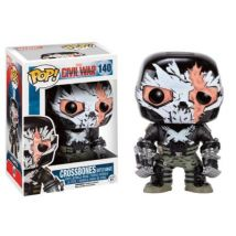 Figurine Captain America Civil War - Crossbones Battle Damage Exclusive Pop 10cm - Autres figurines et répliques