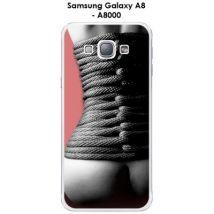 Coque Samsung Galaxy A8 - A8000 design Bondage dos - 7 - Etui pour téléphone mobile