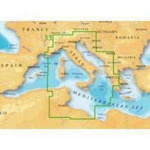 Cartographie Navionics Charts Platinum+ Xl3 Mediterranean Mediterranean Central - Taille :10.8 x 6.5 cm - Equipements électroniques de navigation