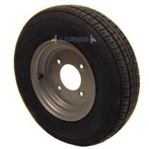 """Roue et pneu de remorque 145 x 10"""""""" 8 PLIS 5d1/2"""""""" PCD - Manutention transports"""