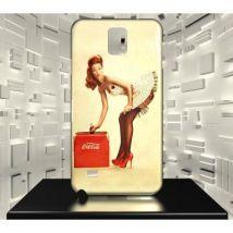 Coque Samsung Galaxy Note 4 Coca Cola design 20 - Etui pour téléphone mobile