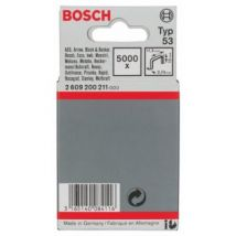 Bosch 2609200211 Lot De 1000 Clous Fins Type 53 11,4 X 0,74 X 10 Mm