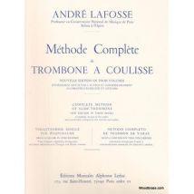 Méthodes et pédagogie LEDUC LAFOSSE ANDRE - METHODE COMPLETE DE TROMBONE A COULISSE VOL.1 Trombone - broché