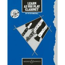 Méthodes et pédagogie BOOSEY & HAWKES LEARN AS YOU PLAY CLARINET (ENGLISH EDITION) - CLARINET Clarinette - broché