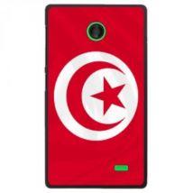 Coque Rigide Pour Nokia X Avec Impression Motifs Drapeau De La Tunisie