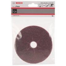 Bosch 2608607637 Set De 2 Non-Tissés 125 Mm - Accessoires pour meuleuses