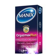 Préservatifs Manix Orgazmax Plus *14 - Hygiène et cosmétiques intimes