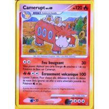 carte Pokémon 18/147 Camerupt 120 PV Série Platine VS NEUF FR - Jeu de cartes