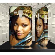 Coque personnalisée pour Samsung Galaxy S3 Mini - SGM03 002 082 018 RIHANNA - Etui pour téléphone mobile