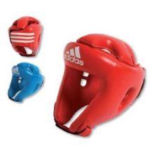 Casque de Boxe amateur rouge XS/S - couleurs : Rouge - taille : S - Protections du sport