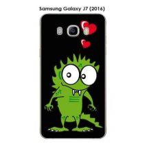 Coque Samsung Galaxy J7 (2016) design Monster - Etui pour téléphone mobile