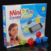 Puzzle en trois dimensions en Cristal 4 en 1 - Puzzle 3D