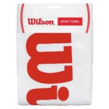 Wilson wrz540100 serviette de sport blanc rouge - Accessoires de tennis