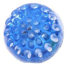 Balle LED à presser fluorescente bleue - Jouets à manipuler