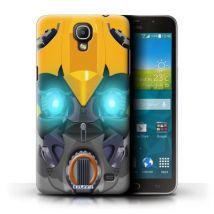 Coque de Stuff4 / Coque/Etui/Housse pour Samsung Galaxy Mega 2 / Bumble-Bot Jaune Design / Robots Collection - Etui pour téléphone mobile