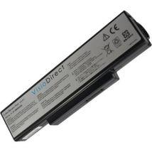 Batterie 11.1V 6600mAh type 70-NX01B1000Z 70-NXH1B1000Z 70-NZY1B1000 70-NZYB1000Z A32-K72 A32-N71 - Visiodirect - - Batterie pour ordinateur portable